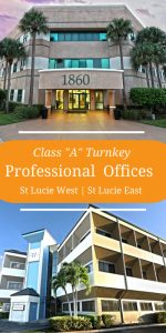 executive office suites in port st lucie buildings west and east.